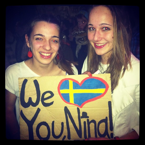 Nina's Swedish Fans